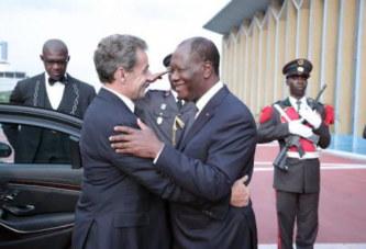 Côte d'Ivoire : tapis rouge pour Nicolas Sakozy à Abidjan