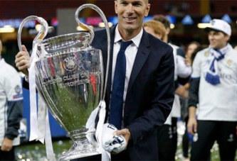 Après sa démission du Réal Madrid, voici la prochaine destination de Zidane