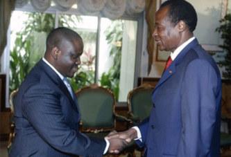 Côte d'Ivoire: Blaise Compaoré pris dans la guerre de succession ivoirienne