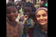 Michael Jackson: Sa fille Paris visite l'Afrique (PHOTOS)