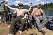 Les vacances très médiatisées de Poutine