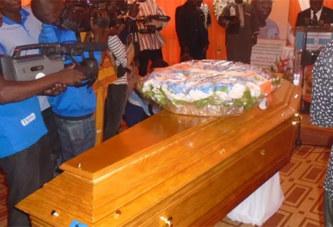 Les militants du MPP ont rendu un dernier hommage à Salifou Diallo au siège du parti