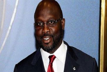 George Weah candidat à l'élection présidentiel du Liberia pour la seconde fois