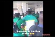 Match retour Burkina Sénégal : Les lions en colère à l'aéroport de Ouaga