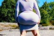 Elle se gave de Nutella pour avoir les plus grosses fesses du monde (photos)