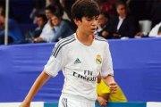 Vidéo-Real Madrid: Le magnifique coup-franc d'un fils de Zidane