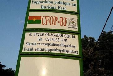 Aggravation de la situation sécuritaire: Les burkinabè sont lassés des communiqués rituels (Opposition)