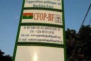 Burkina: La jeunesse de l'opposition dénonce « l'amateurisme funeste » des ministres de la défense et de la sécurité