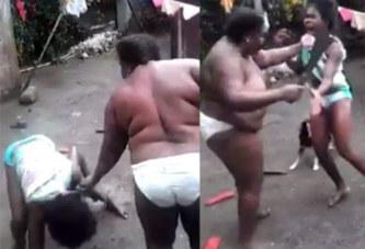 Elle bat sa fille avec une machette (vidéo)