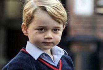 Malgré lui, le prince George se retrouve déjà au cœur des critiques