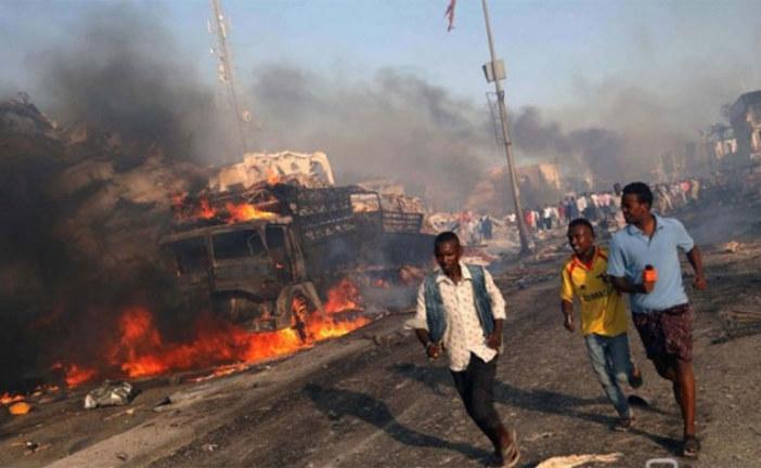 Somalie: Un attentat à la bombe fait plus de 130 morts à Mogadiscio