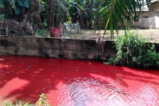 Ghana: Une rivière tourne au rouge à Koforidua