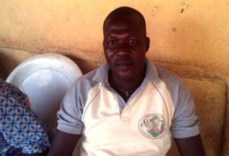 Arsène Ouédraogo, responsable de l'Union des enseignants catholiques: «après deux ans d'attente, notre patience a atteint ses limites»