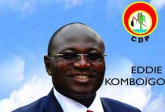 Burkina Faso – Eddie Komboïgo : «La vérité finit toujours par triompher!»