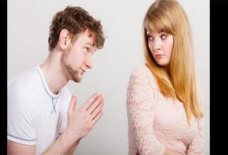 Messieurs, voici 5 façons de s'excuser auprès de votre femme après une infidélité