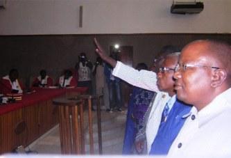 Haute Cour de justice/Chambre d'Appel: douze juges parlementaires prêtent serment