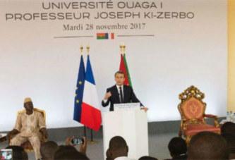 Macron face aux étudiants burkinabè: Lettre d'un étudiant de l'université Ouaga 1 Pr Joseph Ki-Zerbo