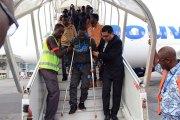 Libye: Les migrants ivoiriens en route pour Abidjan (photos)