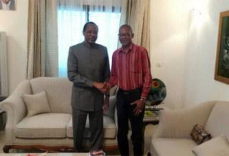 Nana Thibault reçu de nouveau par Blaise Compaoré exhorte le président Ouattara à s'impliquer pour le retour de Compaoré au Burkina