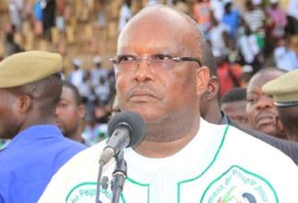 """Burkina Faso: les """"durs"""" mots de Roch Kaboré à l'endroit de Blaise Compaoré"""
