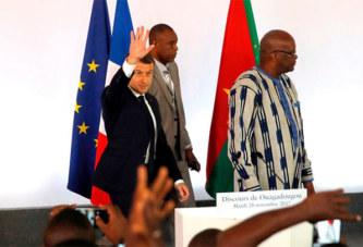 Burkina Faso : pourquoi le président Kaboré s'est éclipsé pendant le discours de Macron