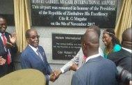 Zimbabwe: l'aéroport d'Harare change de nom et devient aéroport international Robert Mugabe