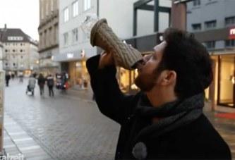 Cet Allemand est obligé de boire 20 litres d'eau par jour pour survivre – Vidéo