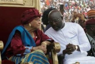 George Weah investi président du Liberia devant des dizaines de milliers de personnes