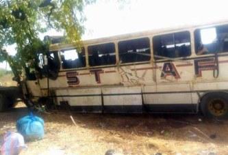 Sakoinsé (Centre-Ouest) : deux morts dans un accident de la circulation