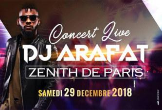 Après son échec du Bataclan : Arafat Dj annonce un concert au Zénith de Paris