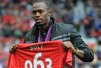 Football: Usain Bolt signe dans un club