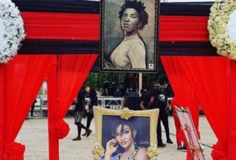 Ghana: Les images des obsèques d'Ebony reigns à Accra