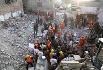 Inde – Drame: Un hôtel s'effondre pendant un mariage: 18 morts