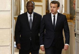 Budget national : Alassane Ouattara appelle son ami Macron à la rescousse