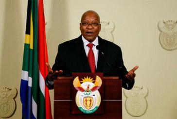 Afrique du Sud: le président Jacob Zuma démissionne avec «effet immédiat»