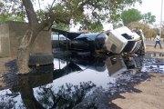 Burkina - Zorgo: accident d'un camion citerne qui déverse son contenu