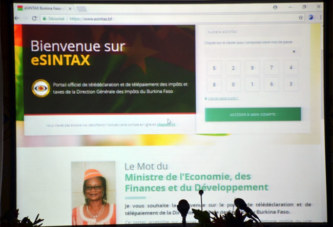 «esintax.bf»: la plateforme de déclaration et de paiement des taxes et impôts via le net