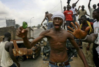 Marche de l'opposition à Abidjan: Les enfants Microbes entrent dans la danse et font mal