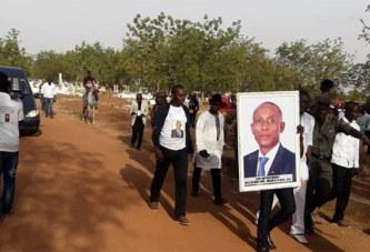 Inhumation de Jean-Baptiste Natama : Le dernier hommage à l'homme…