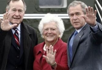 Etats-Unis : Barbara, l'épouse Georges Bush père est décédée