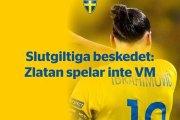 Zlatan Ibrahimovich ne participera pas au Mondial 2018 (Fédération)