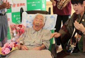 Japon: La doyenne de l'humanité décède à 117 ans (photos)