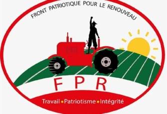 Situation politique nationale:Selon le FPR,le gouvernement semble opter pour l'irresponsabilité, le dilatoire et le confort des ministres