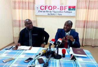 Burkina: la situation nationale passée au peigne fin par l'opposition politique