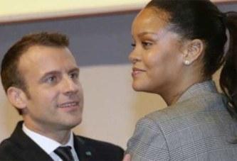 Rihanna : La chanteuse touchée par le geste d'Emmanuel Macron envers Mamadou Gassama