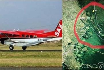 Kenya: L'épave d'un avion accidenté retrouvé au nord de Nairobi , aucun survivant