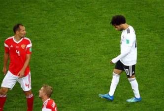 Mondial 2018: La Russie file en huitièmes de finale, Salah et l'Egypte quasiment condamnés