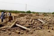 Sabcé-Centre Nord: une pluie accompagnée de vents violents fait d'importants dégâts matériels
