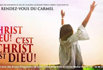 2èmeédition du Rendez-vous du Carmel/Restauration: l'onction déclenche une vague d'amour fraternel