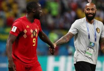 Mondial: Polémique autour de la présence de Thierry Henry sur le banc belge